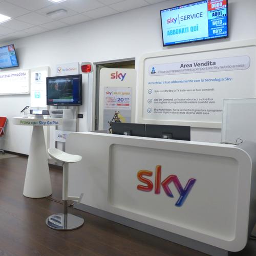 Banco nuovi contratti Sky presso Tesser Antenne