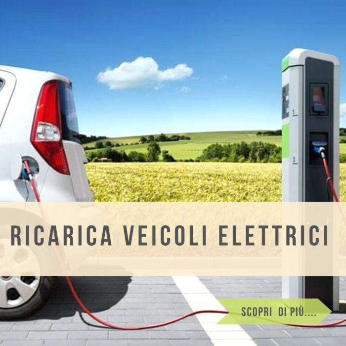 Stazioni di ricarica per veicoli elettrici per privati aziende ed enti comunali