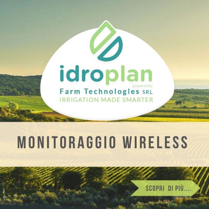 Sistemi di monitoraggio irrigazione per l'agricoltura