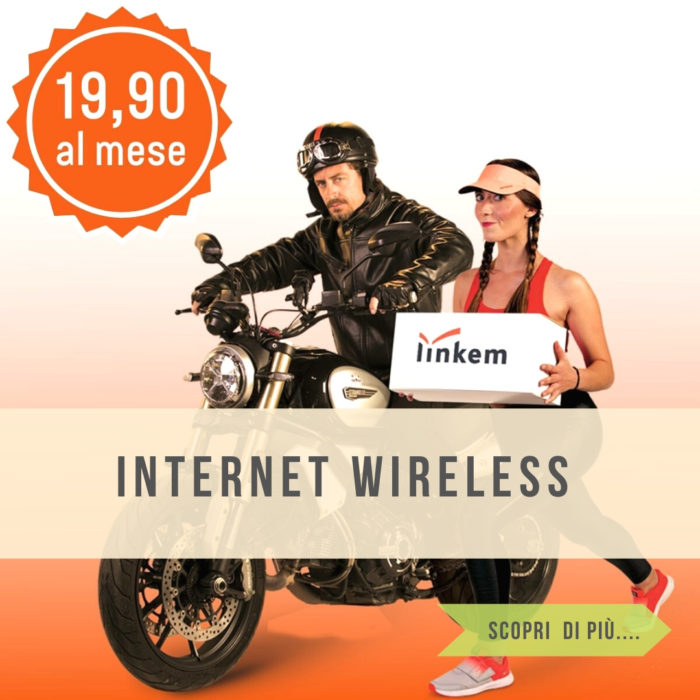 Linkem internet wireless per privati e aziende anche in tecnologia 5GF