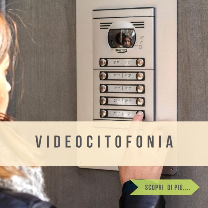 Impianti videocitofonici integrati con smartphone e sistema di allarme
