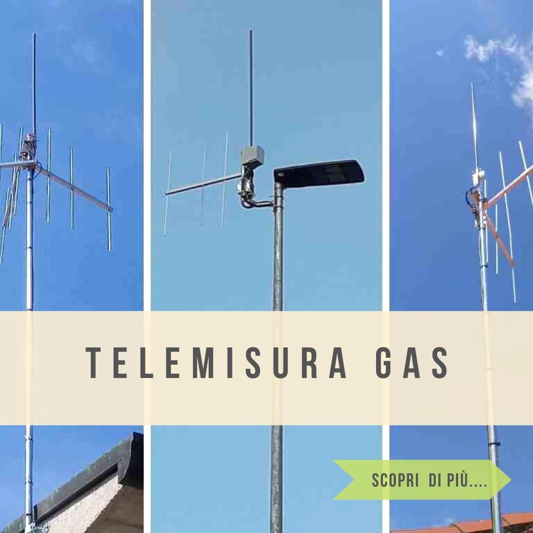 Telemisura contattori gas