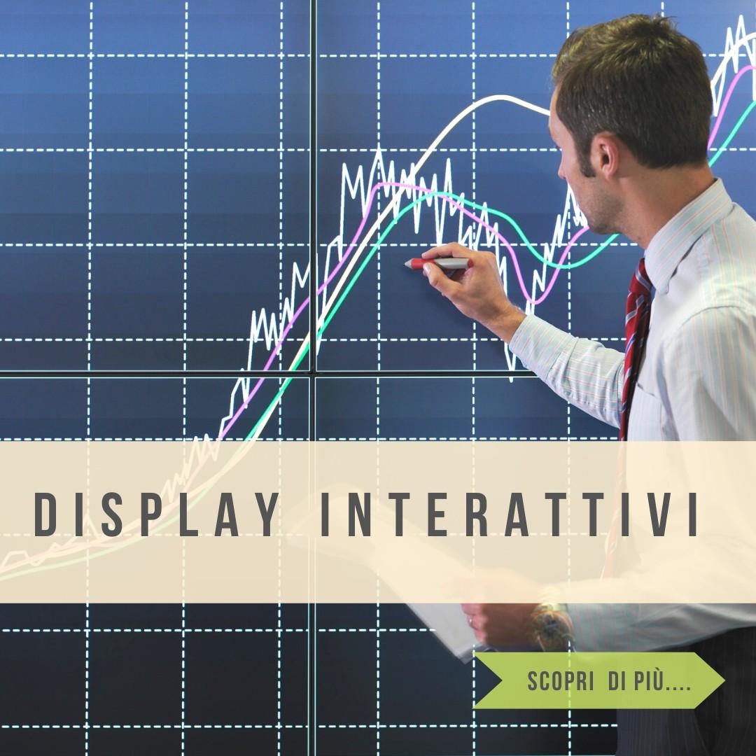 """Monitor per sale riunioni interattivi 65"""" e 86"""" integrati con sistemi di videoconferenza"""