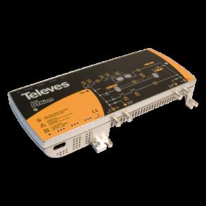 533501-Centralino di linea larga banda DTKom 1 ingresso: VHF/UHF/FI + C.Ritorno